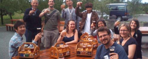 Bierprobe in Neuseeland