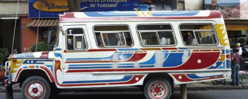Typischer Bus in Bolivien