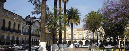 Plaza in Cochabamba