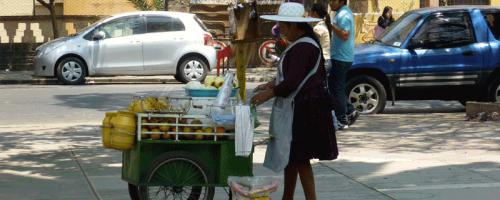 Verkaufsstand Cochabamba
