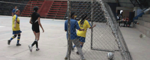 Indoor-Fussball