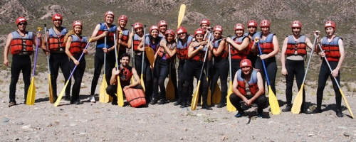 Rafting bei Mendoza