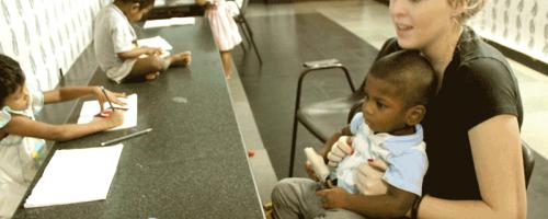Kleinkinder-Betreuung