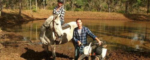 Zu Pferd und zu Bike