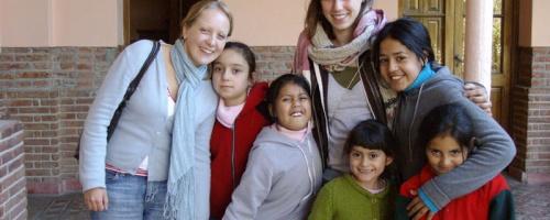 Freiwillgenarbeit mit Kindern